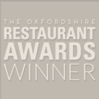Oxfordshire Restaurant Awards Winner