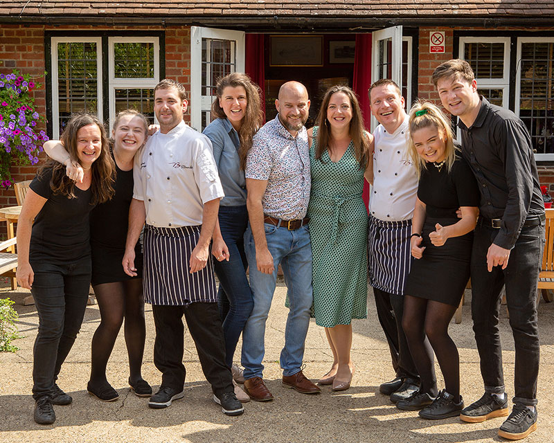 Our Team at the Baskerville Shiplake